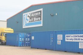 Secure storage - 1st Access Self Store