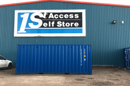 Self Storage Peterborough - Secure Storage Units | 1st Access